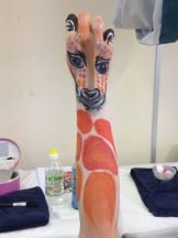 Body Art Giraffe
