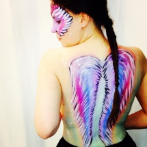 Unicorn Body Art