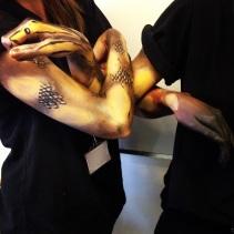 Snake Body Art