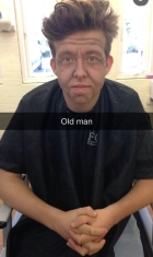 Old Man Stage Makeup