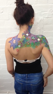 Flower Body Art