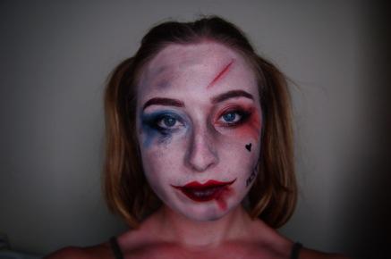 Harlequin Character Makeup